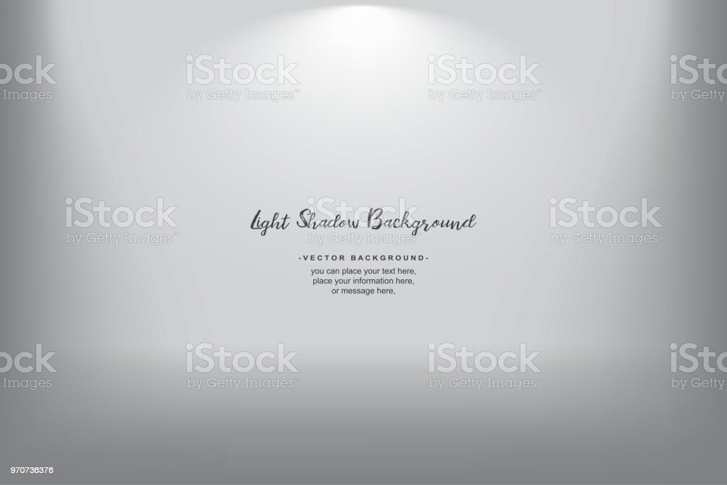 White gray gradient background spotlight vector gradient photobox lightbox backdrop