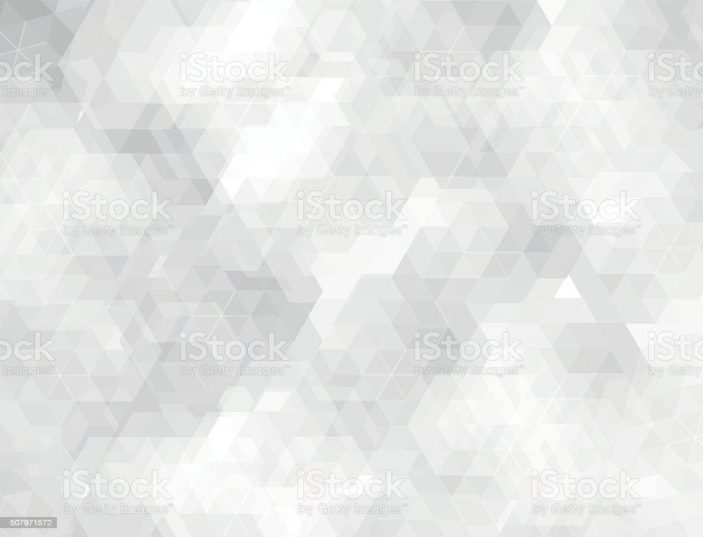 White & grey geometric shapes background