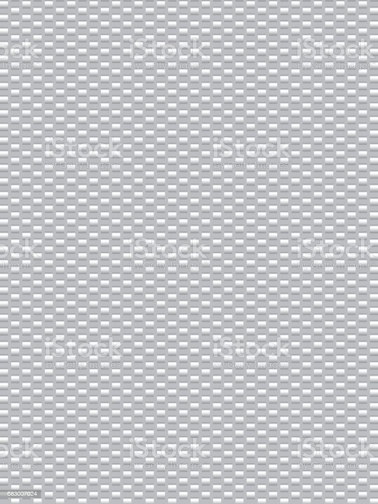 White grey weave texture synthetic fiber cevlr, geometric seamless background vector royalty-free white grey weave texture synthetic fiber cevlr geometric seamless background vector stock vector art & more images of art