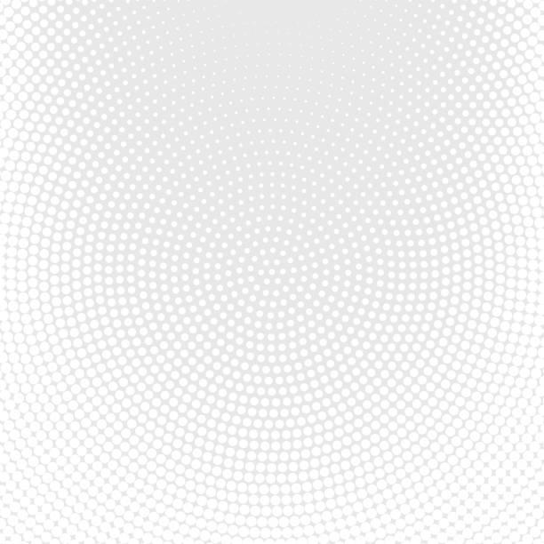 Weißen Hintergrund entdeckt Halbton – Vektorgrafik