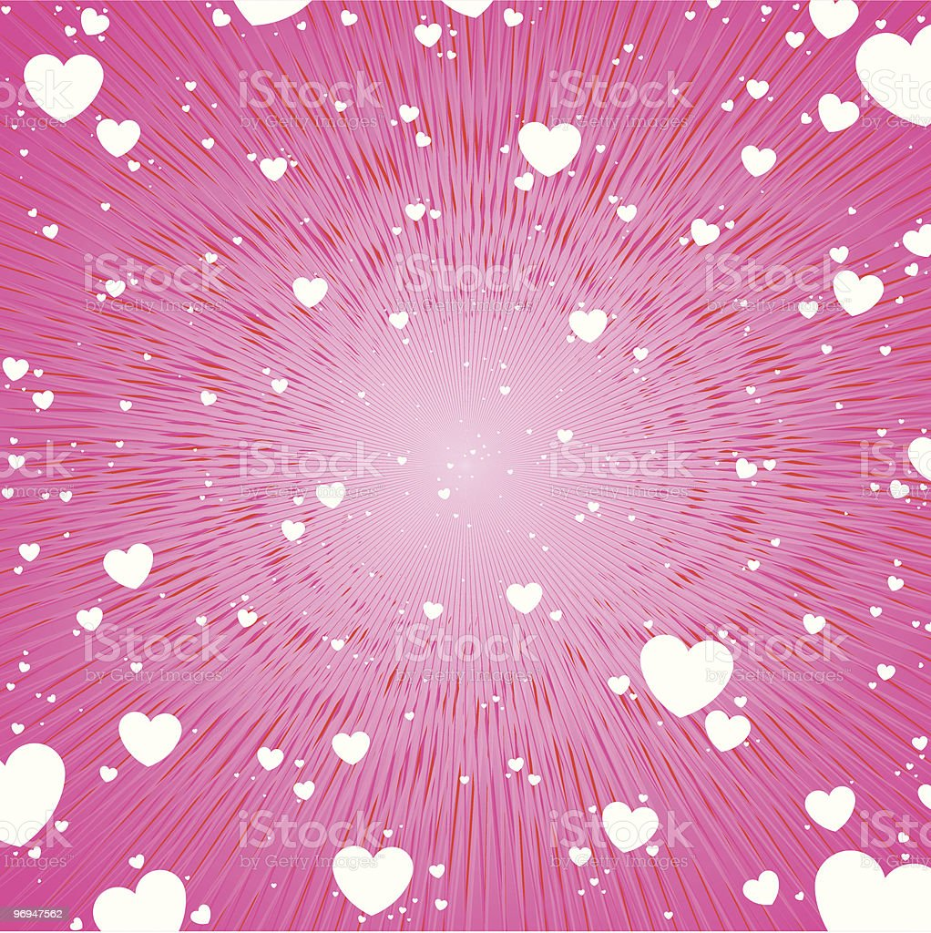White hearts pink background royalty-free white hearts pink background stock vector art & more images of backgrounds