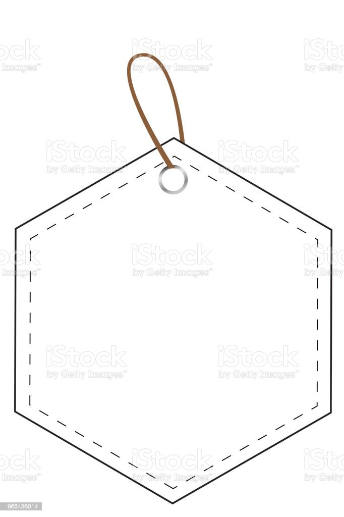 white hexagon blank tag at transparent effect background royalty-free white hexagon blank tag at transparent effect background stock vector art & more images of badge