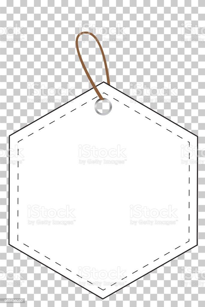 white hexagon blank tag at transparent effect background white hexagon blank tag at transparent effect background - stockowe grafiki wektorowe i więcej obrazów bez ludzi royalty-free