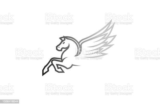 White horse pegasus logo vector id1056416544?b=1&k=6&m=1056416544&s=612x612&h= lvlnta9drhpnlga mxicryji6mobgk63axdn vjrpi=