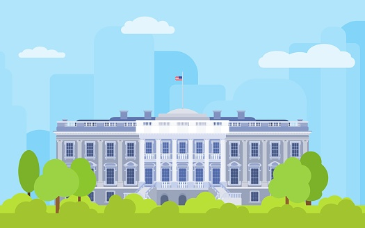 white house color the residence of the president