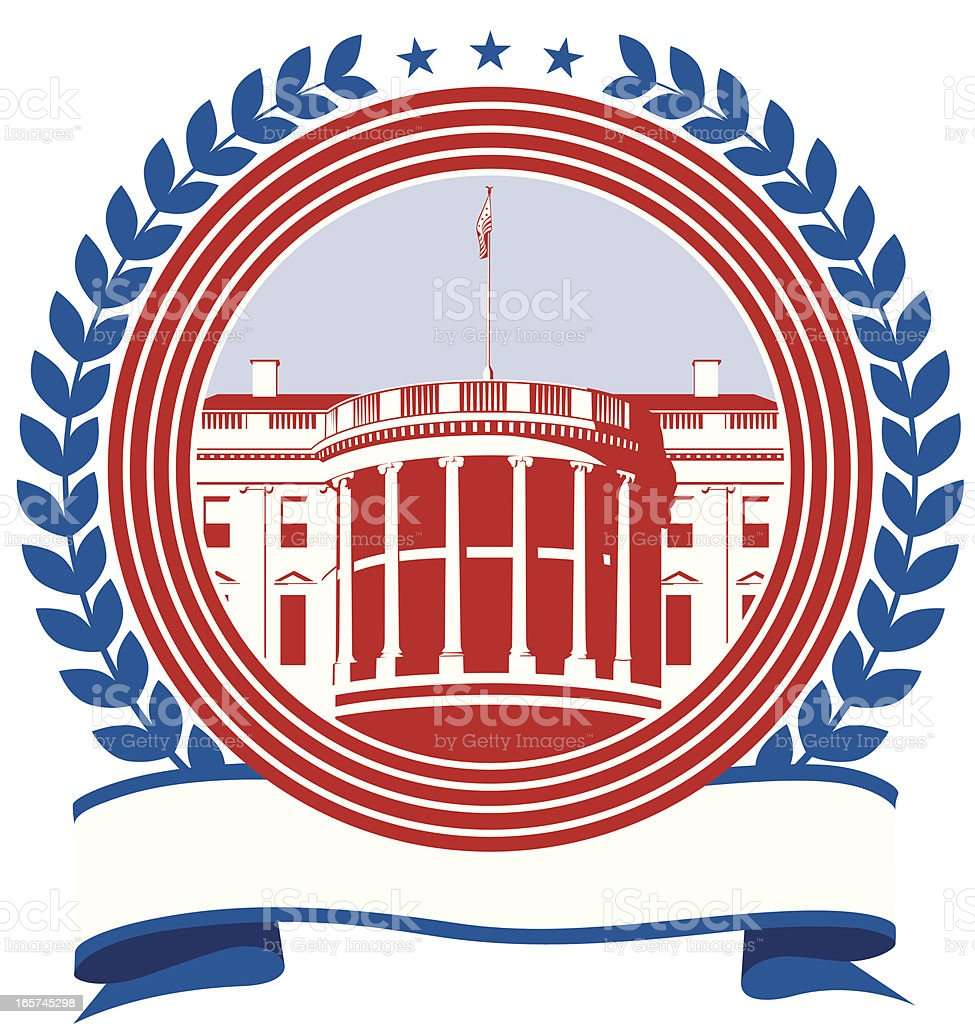 White House royalty-free white house stock vector art & more images of blue