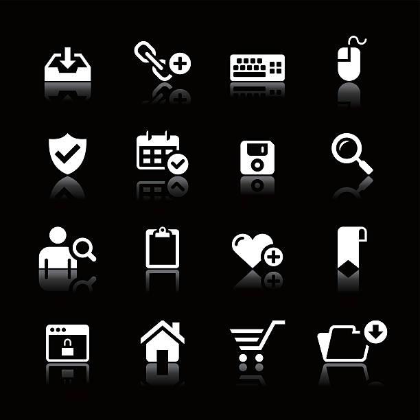 인명별 아이콘 세트/웹 & 인터넷 - home icon stock illustrations