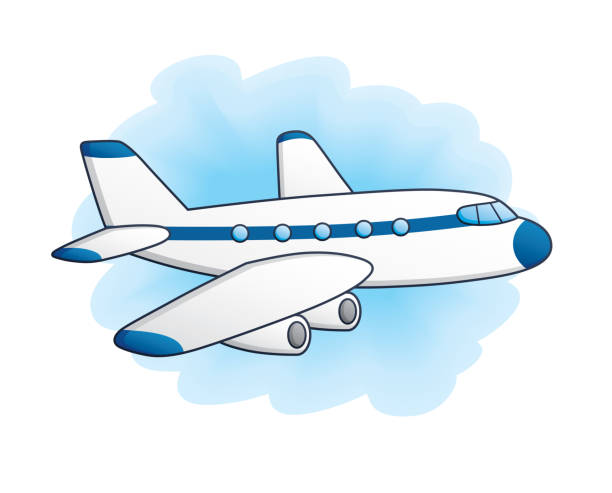 18 507 Airplane Cartoon Illustrations Royalty Free Vector