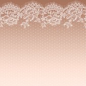White lace. Seamless Pattern. Gradient Background.