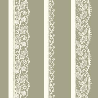 ホワイト Lace縦シームレスなパターンです - イラストレーションのベクターアート素材や画像を多数ご用意