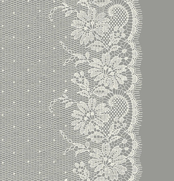 White Lace Vertical Seamless http://i.istockimg.com/file_thumbview_approve/18050397/1/stock-illustration-18050397-.jpg lace textile stock illustrations