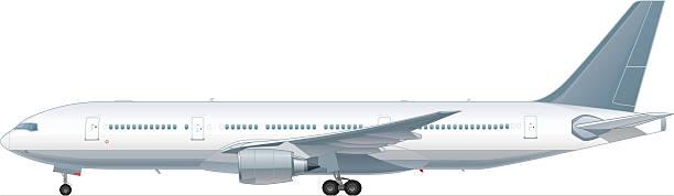 旅客の飛行機 ベクターアートイラスト
