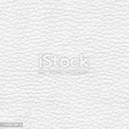 A square piece of leather material in white color.  Realistic vector file with natural details.  Surface filled strictly with cells of different sizes. Very clearly visible grooves. SEAMLESS PATTERN - duplicate it vertically and horizontally to get unlimited area! VECTOR FILE - enlarge picture without lost the quality!  Textured pattern looks like elephant skin. Zoom to see the details. Abstract and elegant modern graphic background.