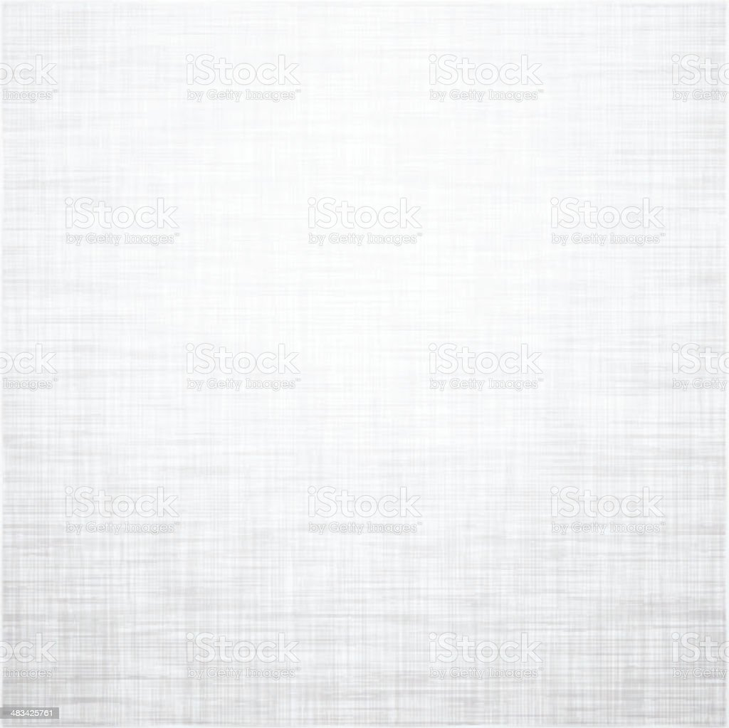 White linen texture. vector art illustration