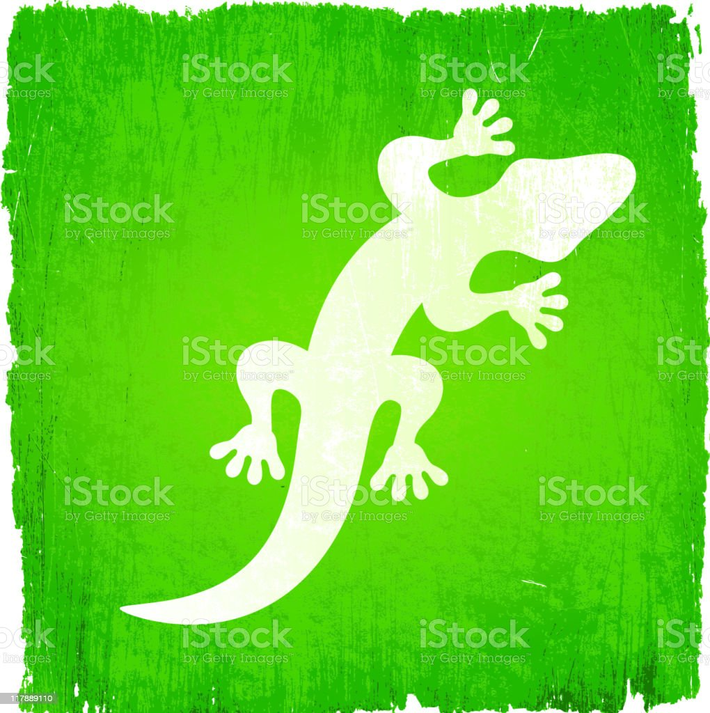 White lizard on green background, with small green lizards royalty-free white lizard on green background with small green lizards stock vector art & more images of brown