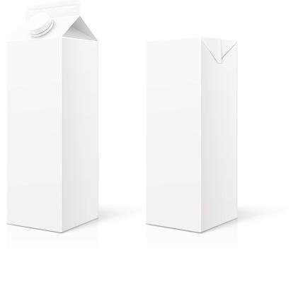 White Milk or Juice Package