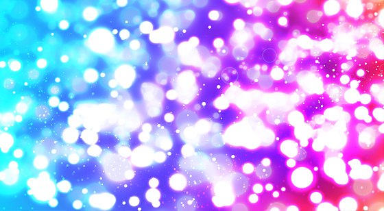 white multi colored abstract background. blurred beautiful shiny Christmas lights