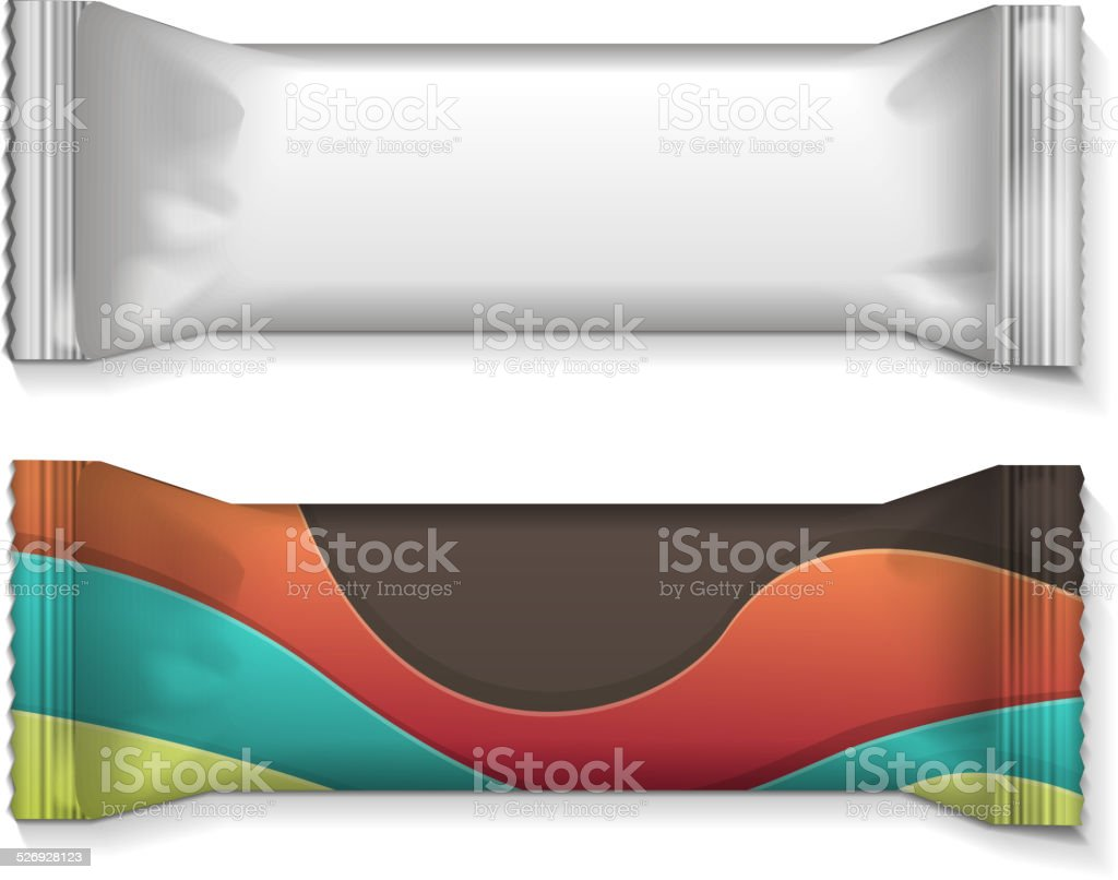 white oder EINGABEN LÖSCHEN (flow-Packung Kunststoff-Folie Paket - Lizenzfrei Abnehmen Vektorgrafik
