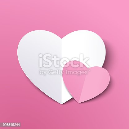 Dating, Heart Shape, Letter, Love You, Origami