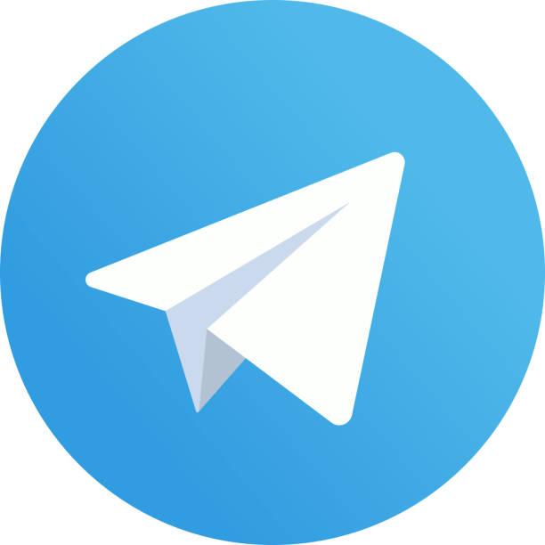 Grafika Wektorowa Ikony Ilustracje Telegram Na Licencji Royalty