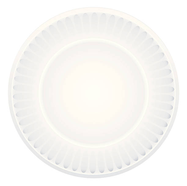 paper plate - plastikteller stock-grafiken, -clipart, -cartoons und -symbole