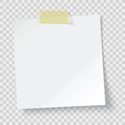 white paper reminder