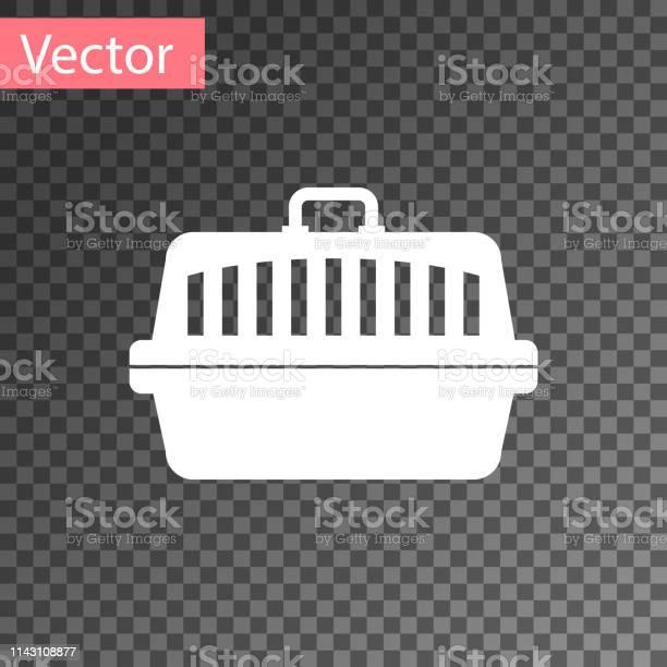 White pet carry case icon isolated on transparent background carrier vector id1143108877?b=1&k=6&m=1143108877&s=612x612&h=ohirswdvk1j0kkejepmzmaaqahkbrapnymwug2ik do=