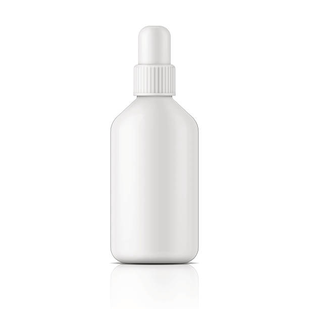 white plastic bottle template のイラスト素材 613310464 istock
