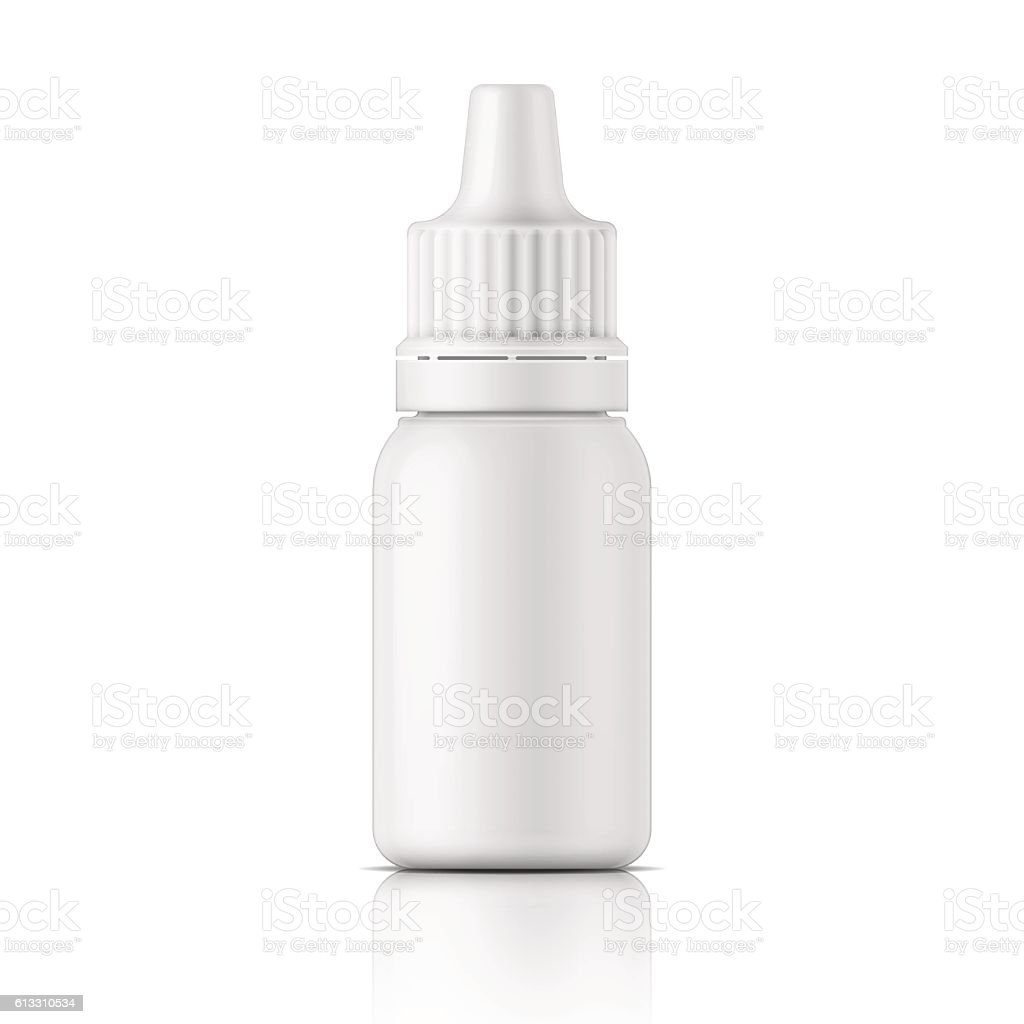 White Plastic Bottle Template Royalty Free Stock Vector Art Amp