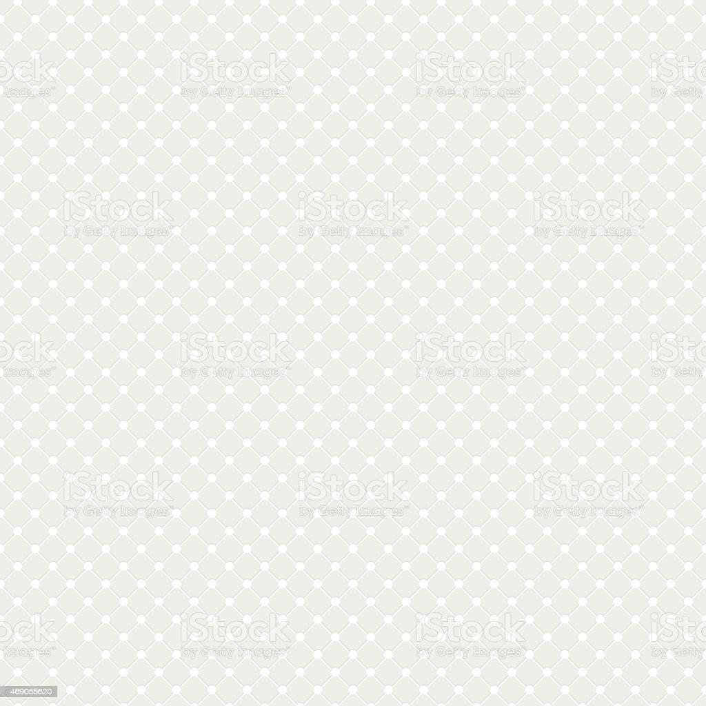 White Polka Dot Seamless Vector Background vector art illustration