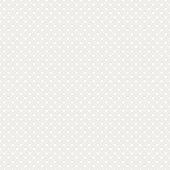White Polka Dot Seamless Vector Background
