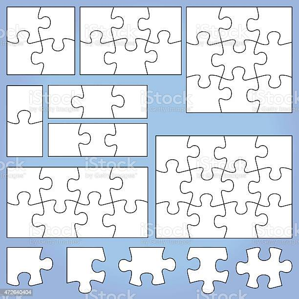 White puzzle set on blue background vector id472640404?b=1&k=6&m=472640404&s=612x612&h=wsf4wbr1lnpnqe7ymikw3o2m6gw21gnbpk7y7bqwngw=