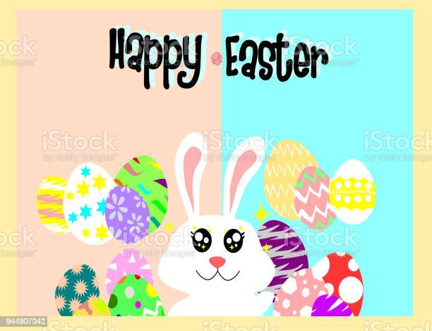 White rabbit and egg on back groundhappy easter conceptholidays vector id944907042?b=1&k=6&m=944907042&s=612x612&h=eofkm 6s3eorhyves6 vvsn31c4recaujdlsldpckwo=