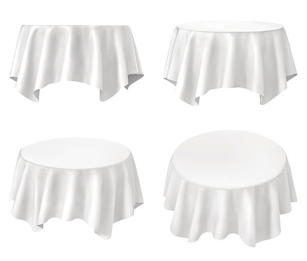 White Table Cloth Illustrations, Royalty-Free Vector ...