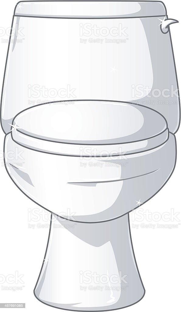 Stern, Toilette, Toilettenspülung, Badezimmer, ClipArt