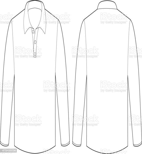 long sleeve template