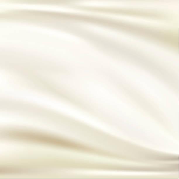 stockillustraties, clipart, cartoons en iconen met white silk background - zijde