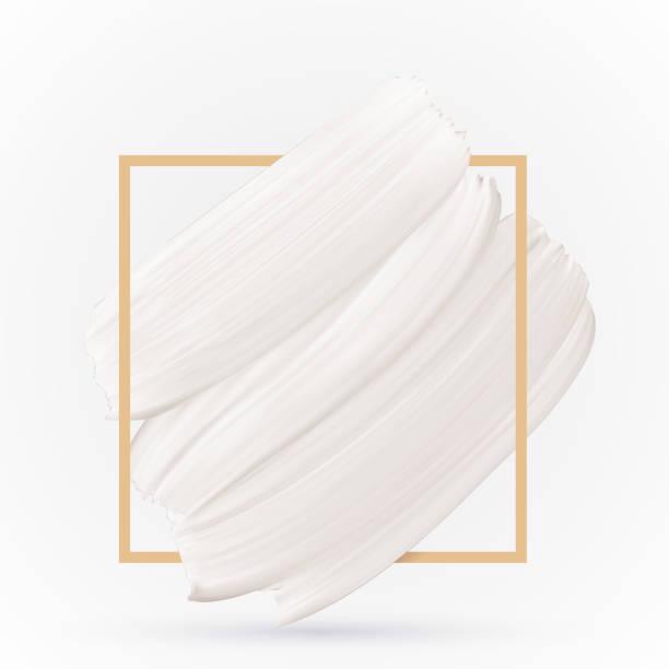 ilustrações, clipart, desenhos animados e ícones de branco mancha textura sobre fundo branco-vetor. modelo de design de cor pastel - moda de inverno