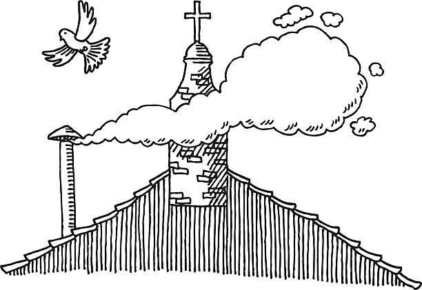 Best Smoke Signal Illustrations, Royalty-Free Vector