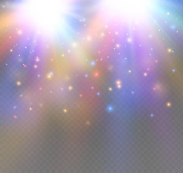 White sparks and stars glitter special light effect.snow White sparks and stars glitter special light effect.snow.glare disco lights stock illustrations