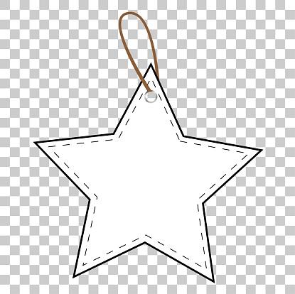 투명 효과 배경에서 흰색 스타 빈 태그 0명에 대한 스톡 벡터 아트 및 기타 이미지