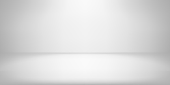 White studio room background spotlight vector gradient photobox lightbox backdrop