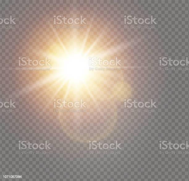 Vetores de Luz Do Sol Branco e mais imagens de Abstrato