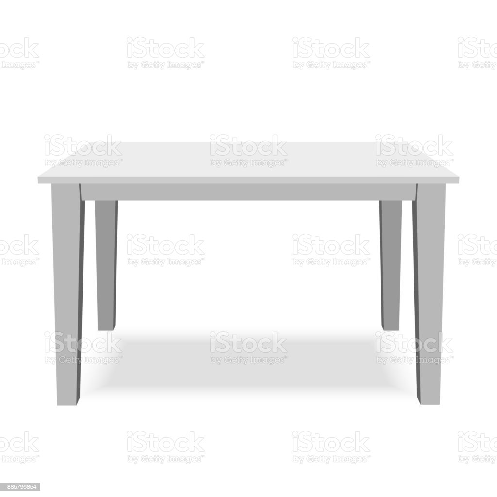 White Table Top View With White Table Vector Art Illustration Royalty Free White Table Top View Clip Art Vector Images