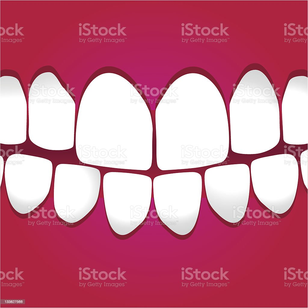 White Teeth Gums Stock Vector Art & More Images of Adult 133827566 ...