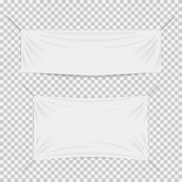 Royalty Free Blank Banner Clip Art Vector Images Illustrations - Blank vinyl banners