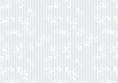 White stripe background with antique and baroque flowers. For spring and summer design.