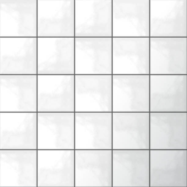 weiße fliesen vektor - mosaikböden stock-grafiken, -clipart, -cartoons und -symbole