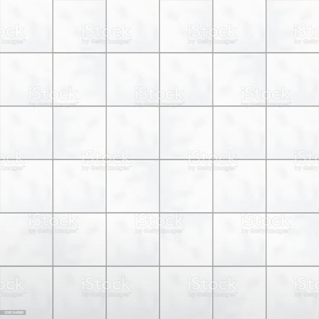 White tiles wall vector vector art illustration