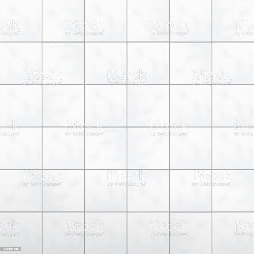... White Tiles Wall Vector Vector Art Illustration ...